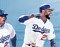 "Los Angeles Dodgers Billboards ""An LA Tradition"""