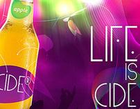 Life is CIDE branding