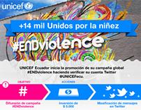 UNICEF® Ecuador #ENDviolence Campaign