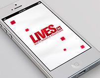 Lives.kz // Logo