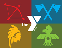 YMCA - Camp Widjiwagan (logo design for kids)