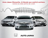 Anúncio Auto Japan Honda Pampulha