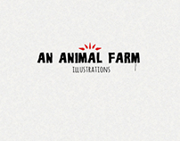 AN ANIMAL FARM (illustrations)
