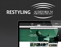 Restyling - Auditorium Parco della Musica