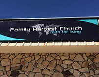 Family Harvest Church - Sign