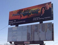Family Harvest Church - Billboard