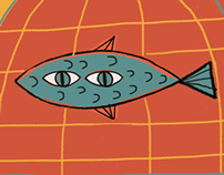pez en su jaula