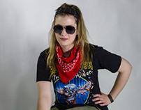 Heavy Metal Fashion Portraits