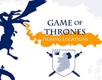 Game of Thrones Road Map / Northern Ireland