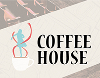 Graphic Arts: Coffee House Fundraiser Marketing