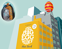 The Farbargé Big Egg hunt NYC 2014