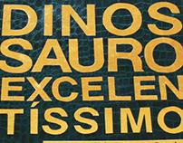 "Illustration book ""Dinossauro Excelentíssimo"""