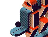 Composición Geométrica / Textil