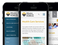 Wheaton Franciscan Healthcare website redesign