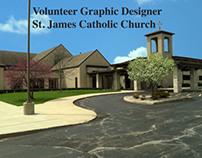 Volunteer Graphic Designer St. James Catholic Church