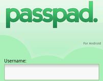 Passpad Android app