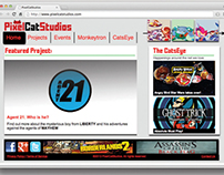 PixelCatStudios - Web Design