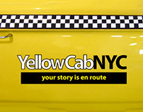 """Your story is en route"" YellowCabNYC Campaign"
