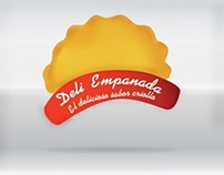 Deli Empanada \ isologo design by Jaime Claure