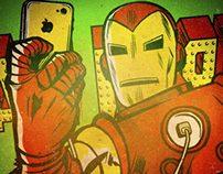 Marvel #Selfies: Avengers Project by Butcher Billy