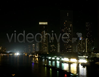 Chao Phraya River time lapse