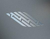 E-cigarette logo concept