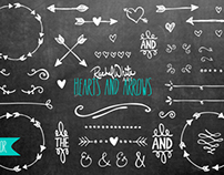 Hearts & Arrows Vector Design Files