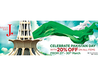 J. Celebrate Pakistan Day..