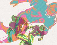 Roos. LTD Edition Screen Prints