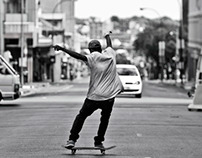 Portraits of a skater