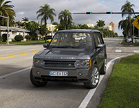Range Rover With Vray And Vred