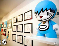 Retrobution @ Kidrobot Miami 8/11/2011