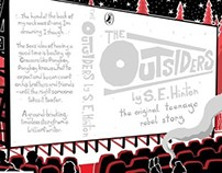Penguin Design Award 2014: The Outsiders Book Cover