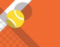 CTL Tennis Poster