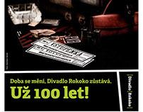"""Campaign """"100 let Divadla ROKOKO""""  ("""