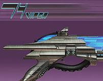 Sci-fi Gun Concept: 74Viper