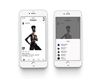 App Design: Concepts for Instagram