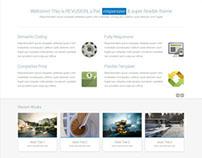 Revusion - Flat Corporate Wordpress Theme
