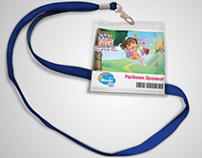 Dora Live show in KSA / Badges