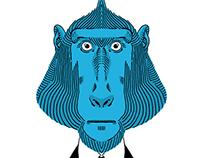 Monki Series - Blue Baboon & Monki PoP