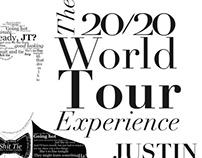Concert Poster- Justin Timberlake
