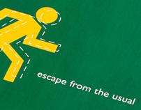 exit | invitation & magazine ad