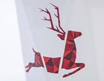 Reindeer MODERN mug