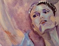 Painting - Wistful Ballerina