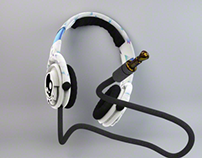 Casque audio - C4D