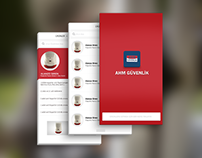 AHM Guvenlik Mobile APP
