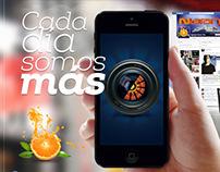 Advertising Social Networking for Naranja Magazine