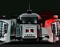 Audi R18 - Pro-active retouching