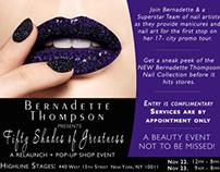 Bernadette Thompson Event Flyer