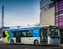 STM BYD, bus 100 % électrique